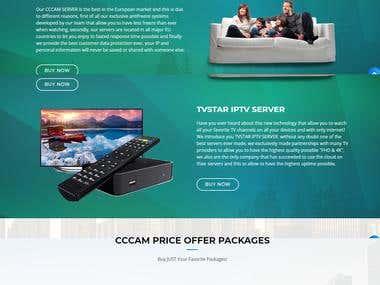 CCcam Server and IPTV Server - TVSTAR