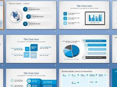 Infographic Business Presentation Sample