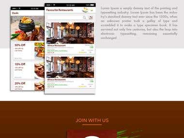 Halal Food Ordering App