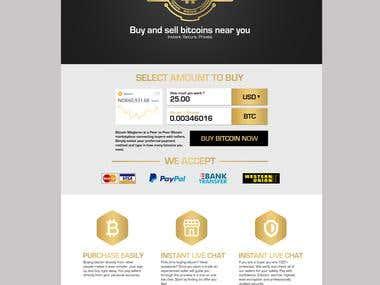 Bitcoin Megleren Web Design