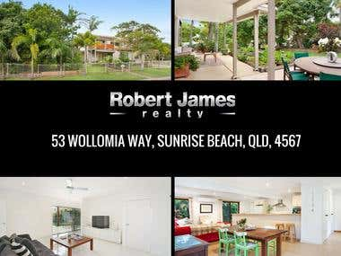 Robert James Realty - Social Media Marketing Australia