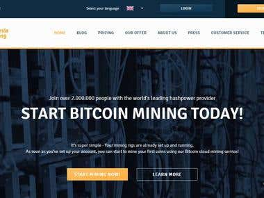 Genesis Mining - SEarch Engine Optimization ICeland