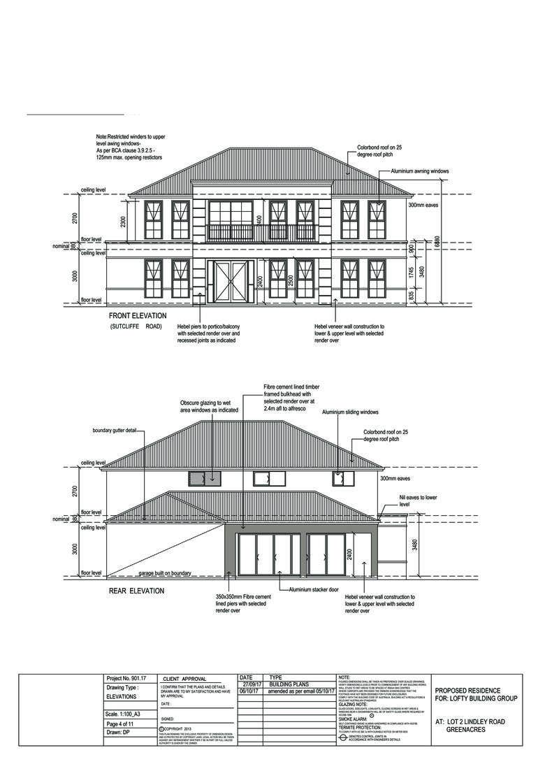 Double Storey House Cad Drawing Freelancer