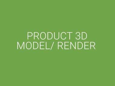 Product 3D Model Render