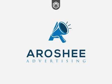 Aroshee Ad logo
