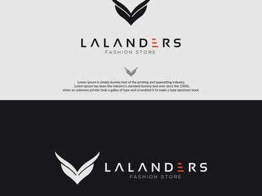 Lalanders logo
