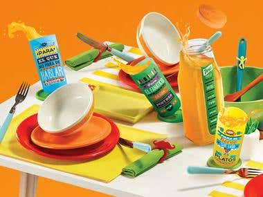 Tang product and packaging designs