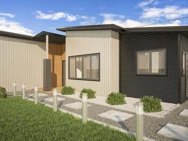 Exterior house design!