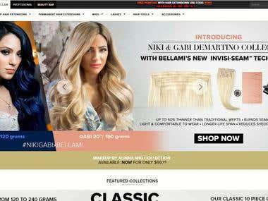 Shopify Website Build