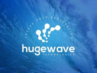 Huge wave logo
