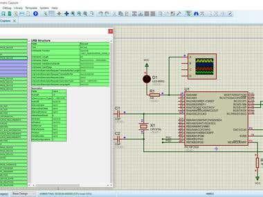 USB-HID, Software Key, C#, Proteus, PIC18F2550