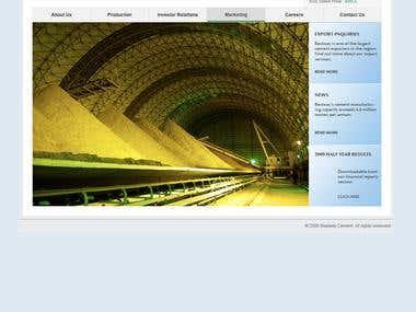 Corporate Website - Design, Coding, Implementation