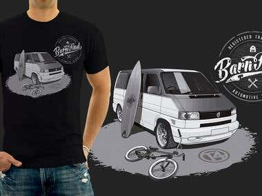 Design a T-Shirt for brand Barnfind