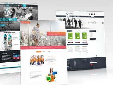 Websites & layouts