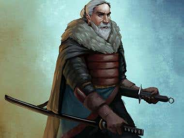 Swordsman Character Commission