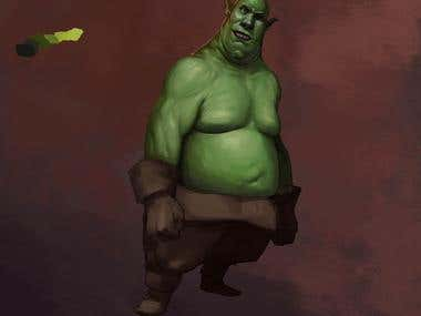 Large Goblin Creature