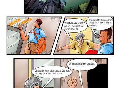 Comic / Panels