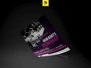 Our roots run deep Flyer Design