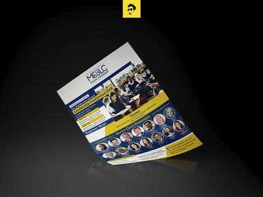 MESLC Flyer Design