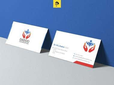 DADOO Logo, and Stationery design