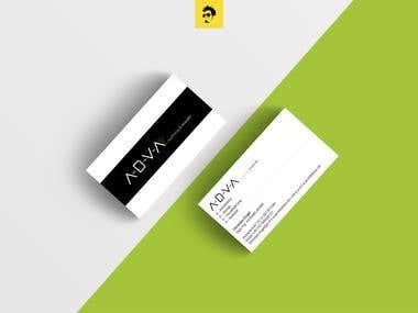 A.D.V.A (Logo And Stationery Design)