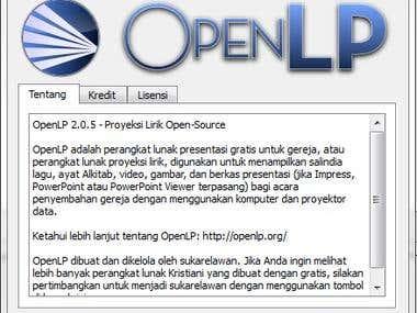 Software Localization: OpenLP
