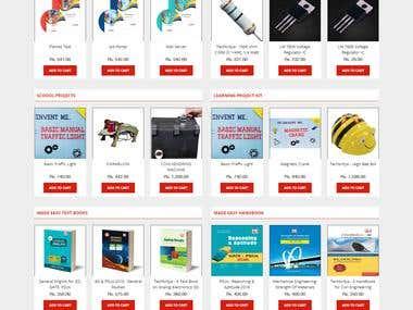Online Study Item store