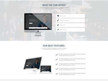 official web design