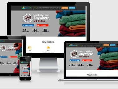 Dhobiink- Online washing services
