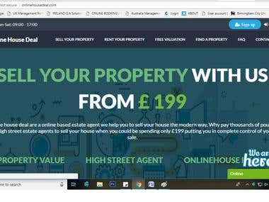property rent wesite