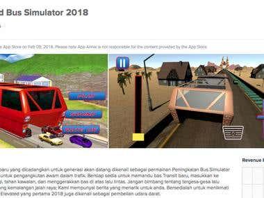 Elevated Bus Simulation 2018