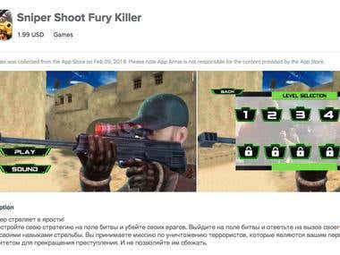 Sniper Shoot Fury Killer