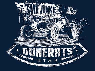 DuneRats and/or Sand Junkie T-Shirt Designs