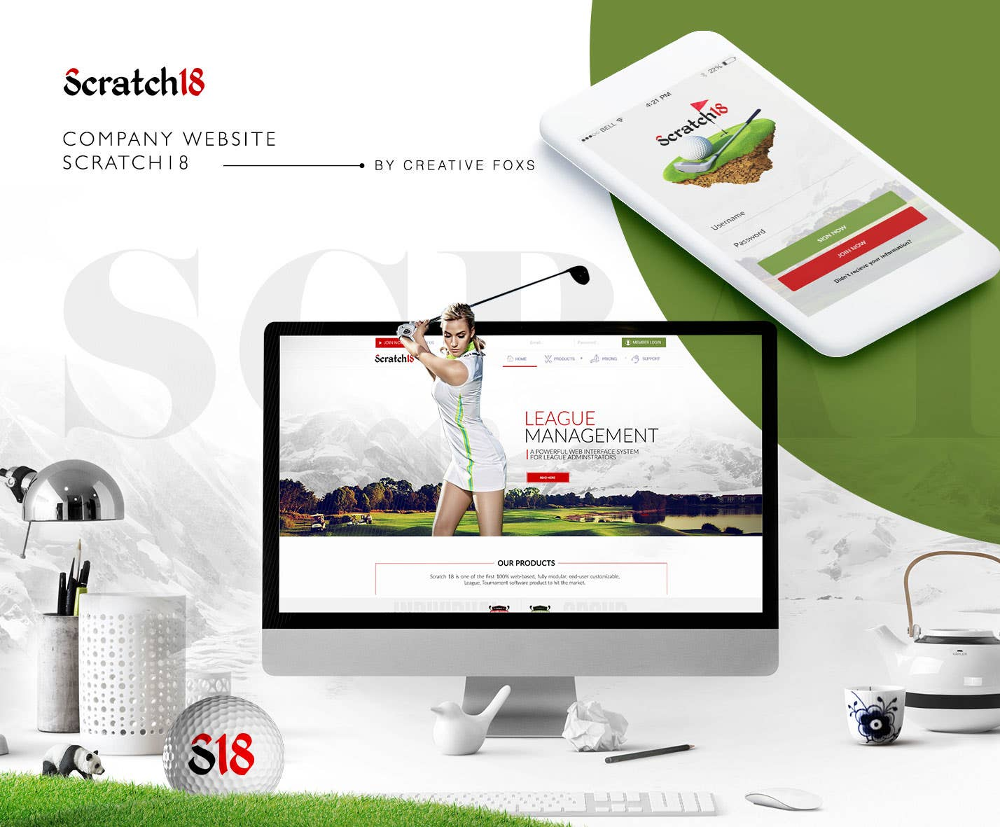 Company website Redesigning