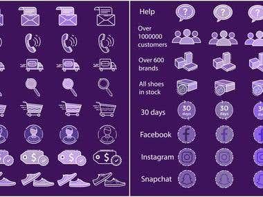 icons web