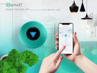Smart Tech Mobile App ui Design