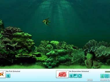 Aquarium game (HTML5)