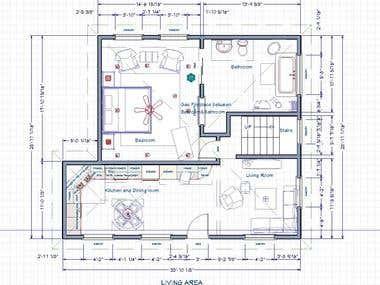 Floor Plan and Interior Design