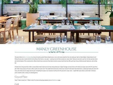 http://www.manlygreenhouse.com.au - Joomla