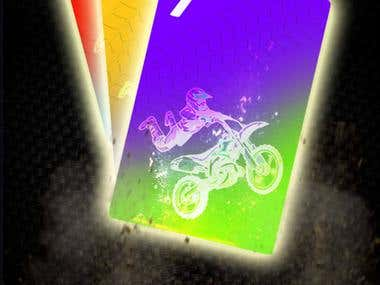 Dirt Bike Card Game