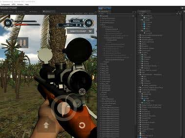 Shooter game FPS offline
