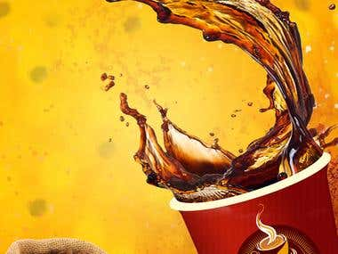 Coffee App Splash Screen