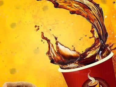 Coffee App Splash Screen