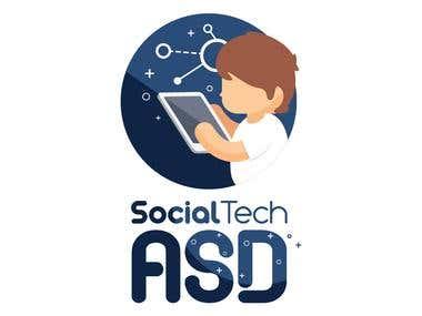 SocialTech ASD Logo
