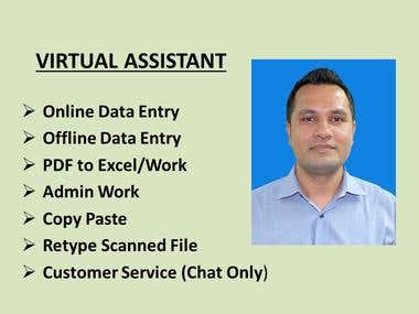 I Will be available 24 Hours As a Virtual Assistant