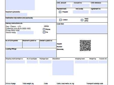 Make Fillable PDF Business Form