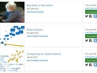 Data Science (Analytics, Statistics) Coursera