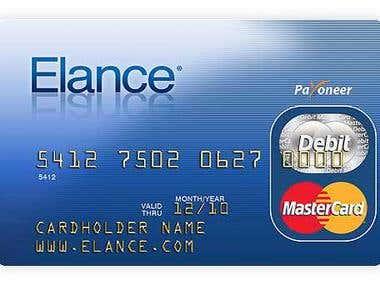 Elance master card