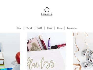 https://www.lemoosh.com/ Squarespace blog development