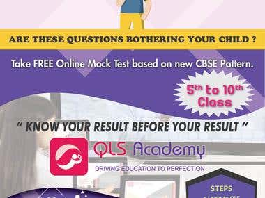 QLS Academy Flyer Design